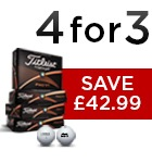 Titleist 4 for 3 - £42.99