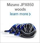 Mizuno JPX 850 woods