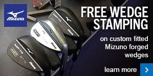 Free stamping on Mizuno wedges