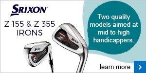 Srixon Z155 & Z355 irons