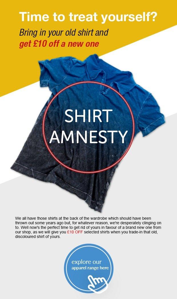 Shirt Amnesty - SM